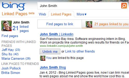 Les pages liées de bing, une meilleur visibilité ?